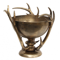 Antler Bowl Gold