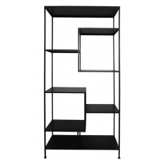 Staggered Iron Shelves Tall