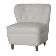 Allie Boucle Occasional Chair